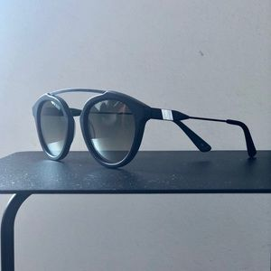 "Westward / Leaning ""Flower"" Sunglasses in Black"